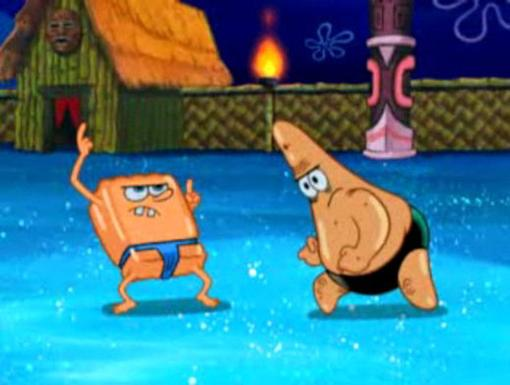 Golden Speedos|SpongeBob and Patrick were the
