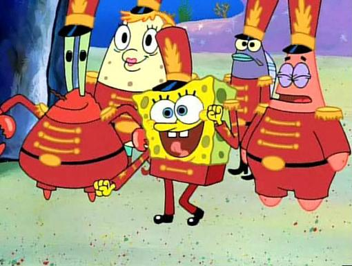Road to Success|SpongeBob's all-star motto? Dance like no one's watching... Even if you're the only one whose actually dancing.