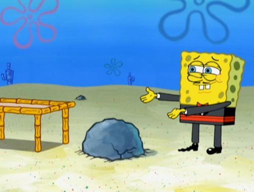 Class Act|There's no end to the snazzy suits in SpongeBob's wardrobe!