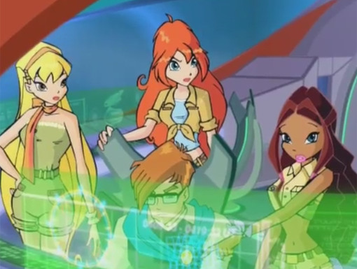 They're Off!|The Winx Club travel to Lord Darkar's fortress to find the pixies.