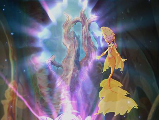 An Opening|It's the supreme guardian of Sirenix and she's letting the girls into the Infinite Ocean!