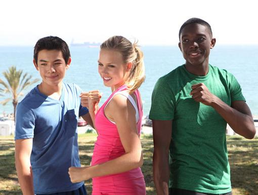 On the Move|These Supah Ninjas are ready to high-kick into high gear!