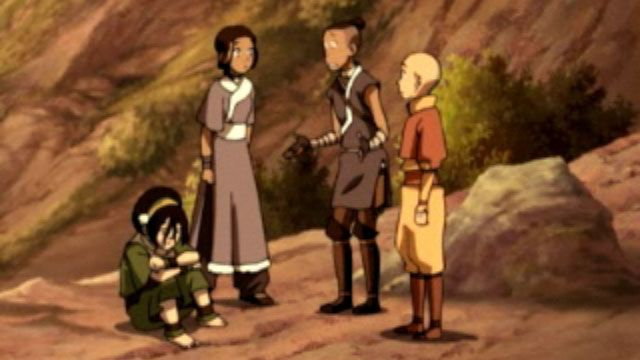 Avatar: The Last Airbender | The Earth King | Season 2 | Ep. 18 | Video Clip | Nicktoons