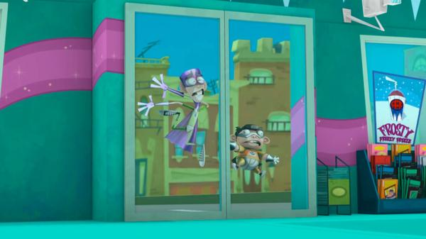 "Fanboy and Chum Chum: ""Sliding Doors"""