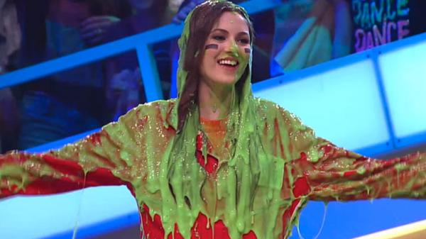 "Figure It Out: ""Slime of the Week: Victoria Justice!"""