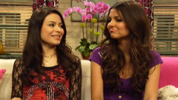 iParty with Victorious: Miranda and Victoria Talk Boys