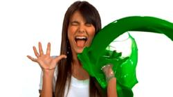 Victoria Justice Slow-Mo Sliming!