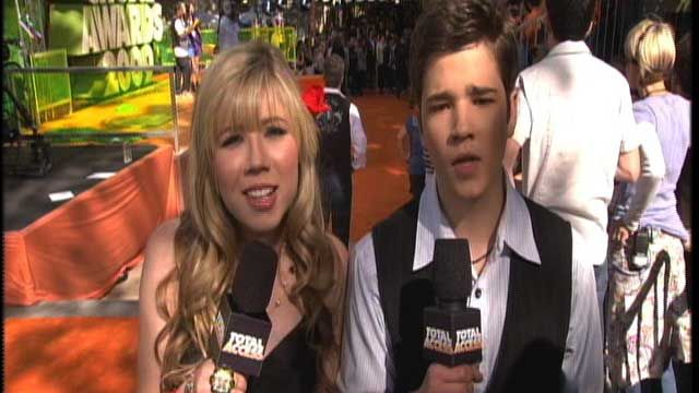 Kids' Choice Awards: KCA 2009: Nathan Kress & Jennette McCurdy Video Clip | Nick Videos