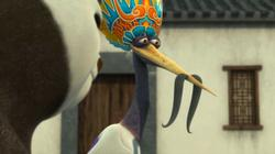 "Kung Fu Panda: ""Crane on a Wire"""
