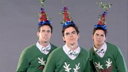 "WORST VIDEO: Adorable Timmerman Brothers ""My Mistletoe Hat"""