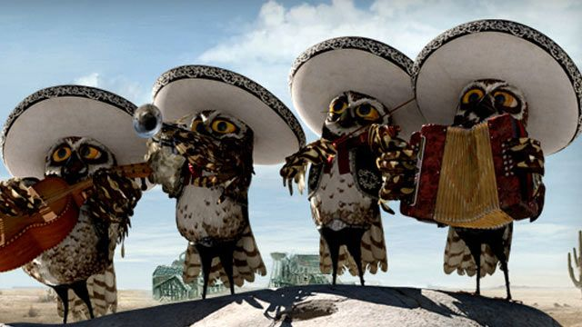 Rango DVD: Mariachi (AD) Video Clip | Nick Videos