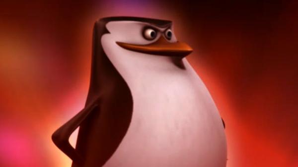 """Penguins of Madagascar: """"Brush With Danger: Laser Show"""""""