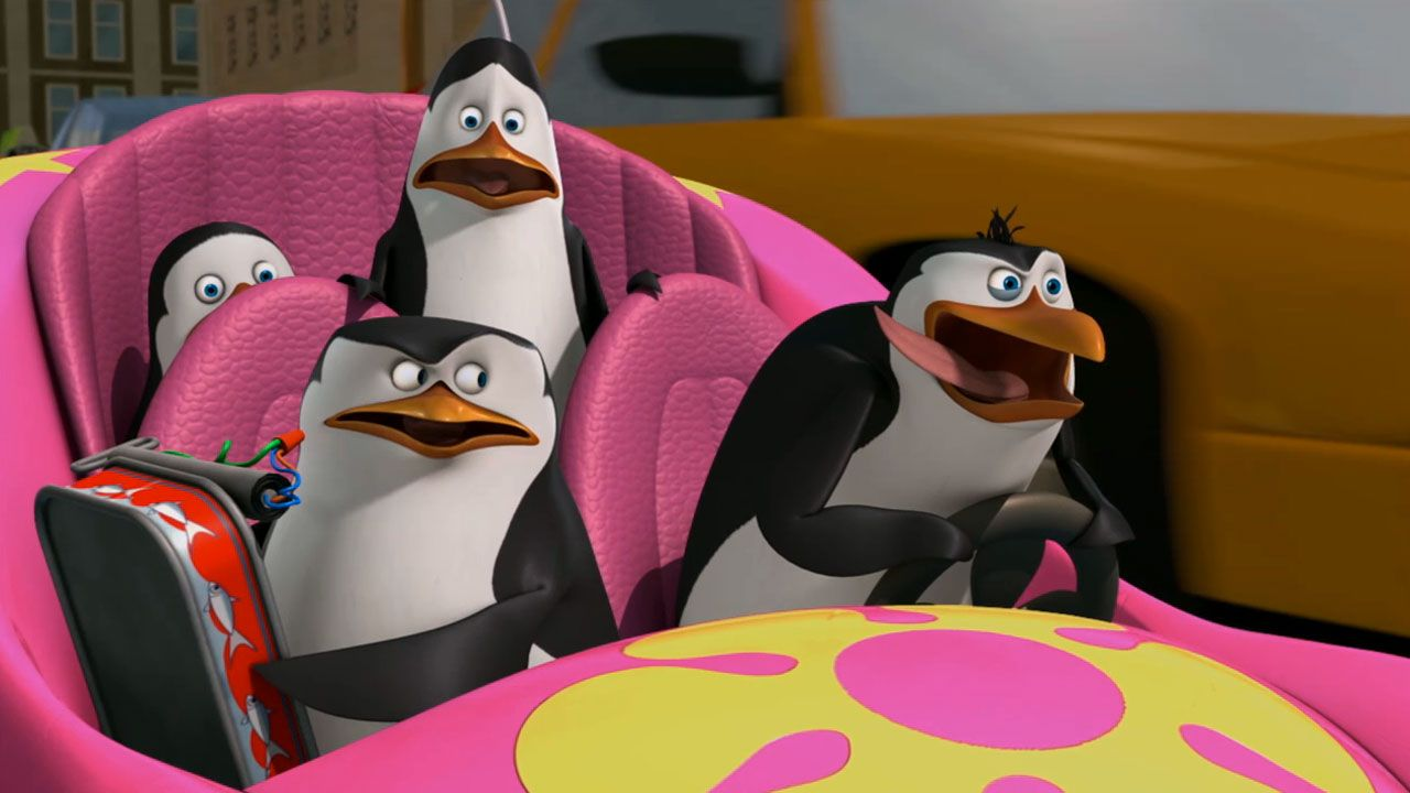 The Penguins of Madagascar: Penguins of Madagascar:
