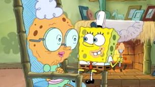SpongeBob SquarePants | Grandma's Kisses | Season 2 | Ep. 8 | Video Clip | SpongeBob.com