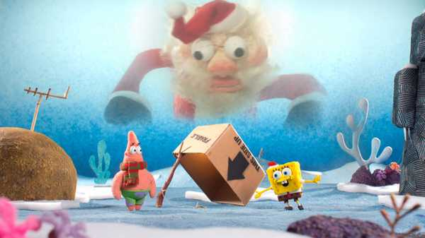 It's a SpongeBob Christmas!: It's a Trap