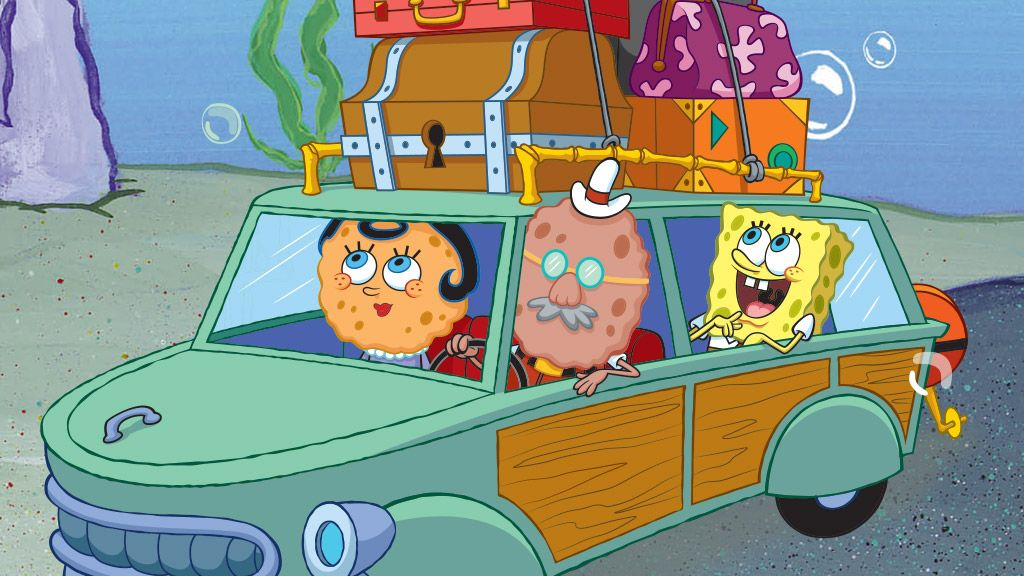 SpongeBob SquarePants | SpongeBob's Road Trip Song | Video Clip | SpongeBob.com