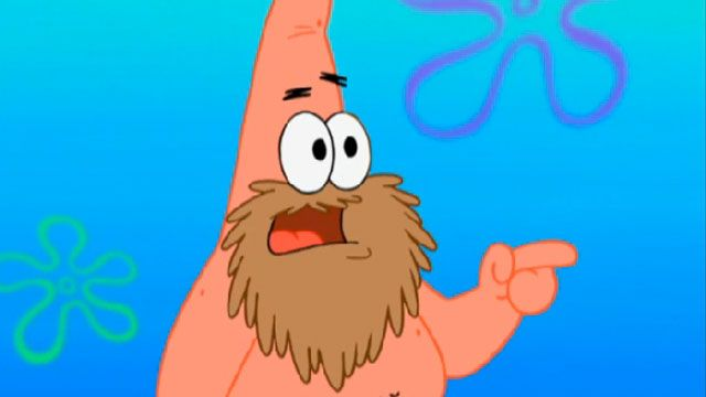 SpongeBob SquarePants | Squidward's School for Grown-Ups: Patrick's Beard | Season 8 | Ep. 17 | Video Clip | SpongeBob.com