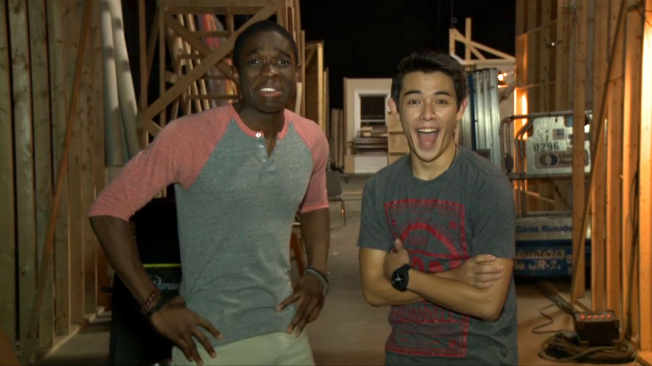 Supah Ninjas: Nick Stars Exclusive: Carlos and Ryan's Supah Bad Joke! Video Clip | Nick Videos