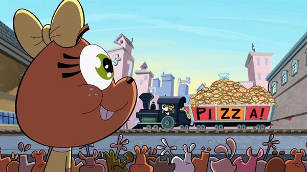 "T.U.F.F. Puppy: ""Bark to the Future: Pizza Train Lost"""