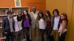 The Big Help: Victorious Cast Visits Duke Ellington