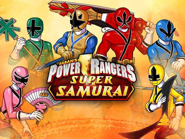 free power rangers samurai games