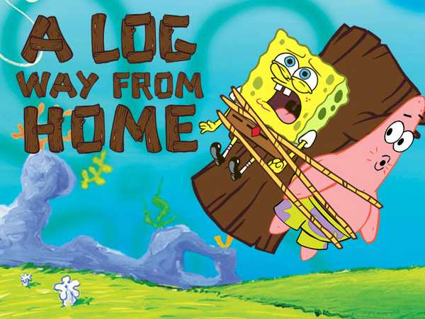 SpongeBob SquarePants: A Log Way From Home