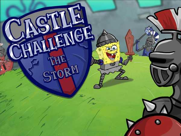 SpongeBob SquarePants: Castle Challenge - The Storm