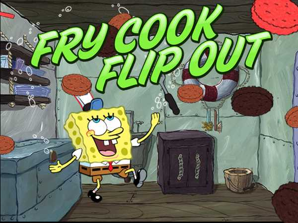SpongeBob SquarePants: Fry Cook Flip Out