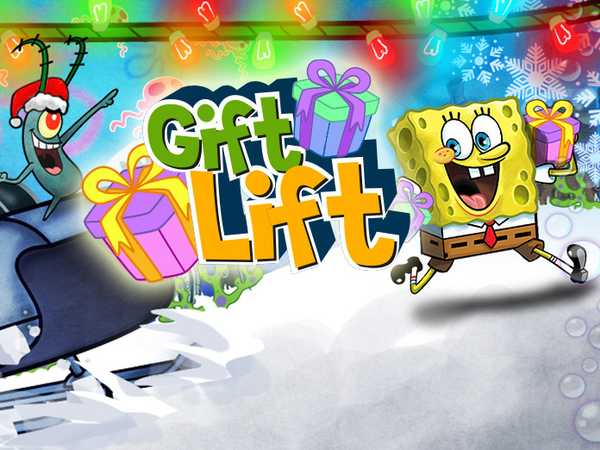 SpongeBob SquarePants: Gift Lift