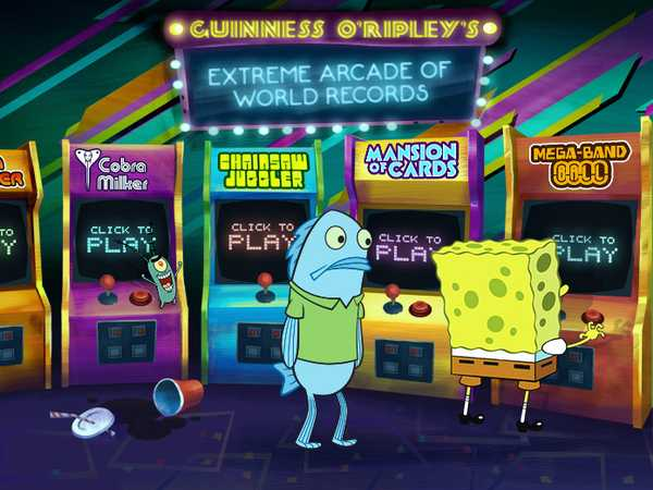 SpongeBob SquarePants: Guinness O'Ripley's Extreme Arcade of World Records