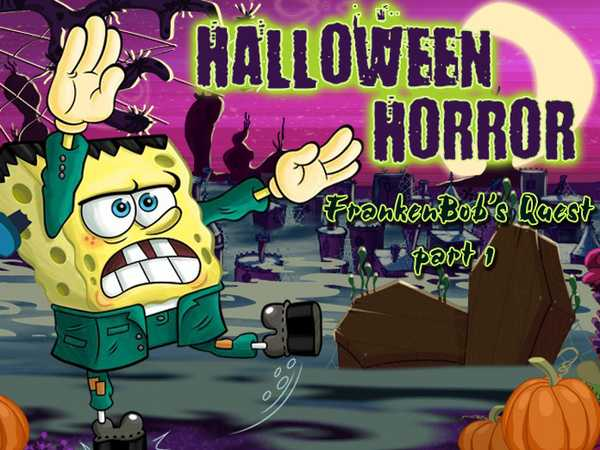 SpongeBob SquarePants: Halloween Horror, FrankenBob's Quest