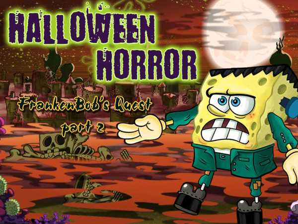 SpongeBob SquarePants: Halloween Horror, FrankenBob's Quest Pt 2
