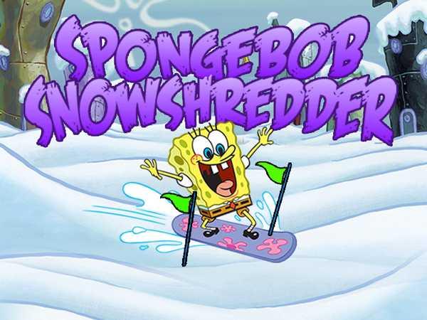 SpongeBob SquarePants: SpongeBob SnowShredder