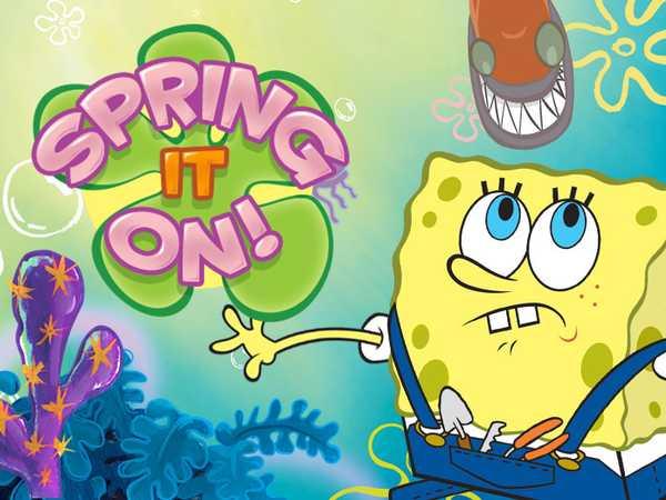 SpongeBob SquarePants: Spring It On