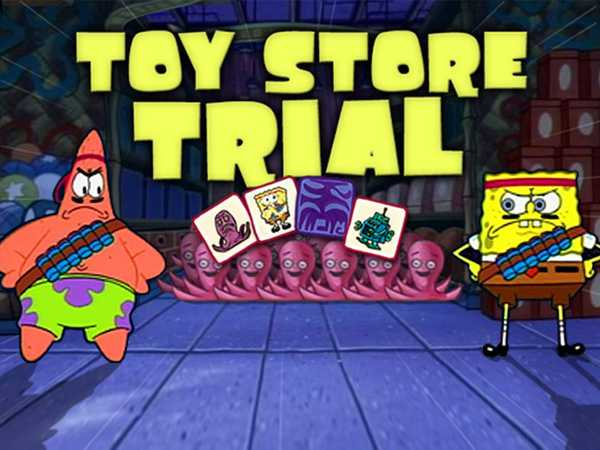 SpongeBob SquarePants: Toy Store Trial