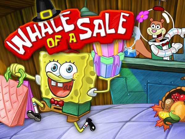 SpongeBob SquarePants: Whale of a Sale