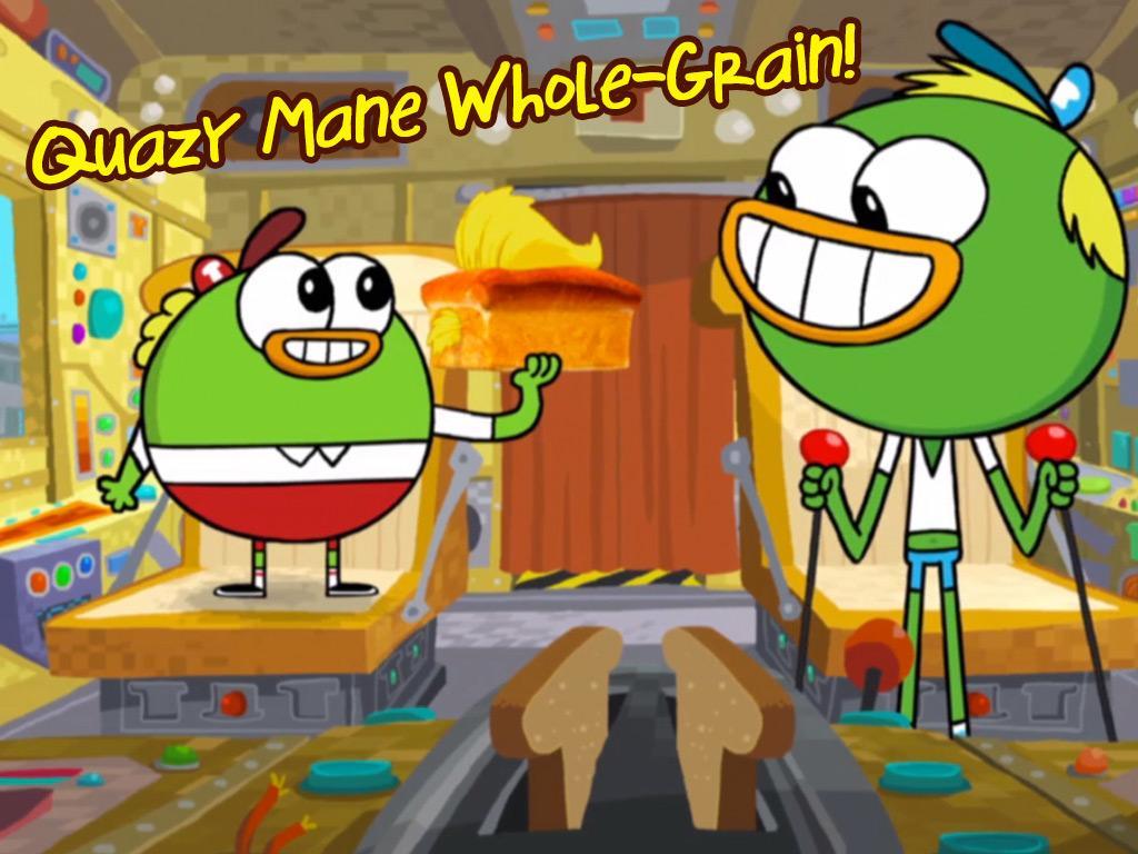 Quazy Mane Whole-Grain!