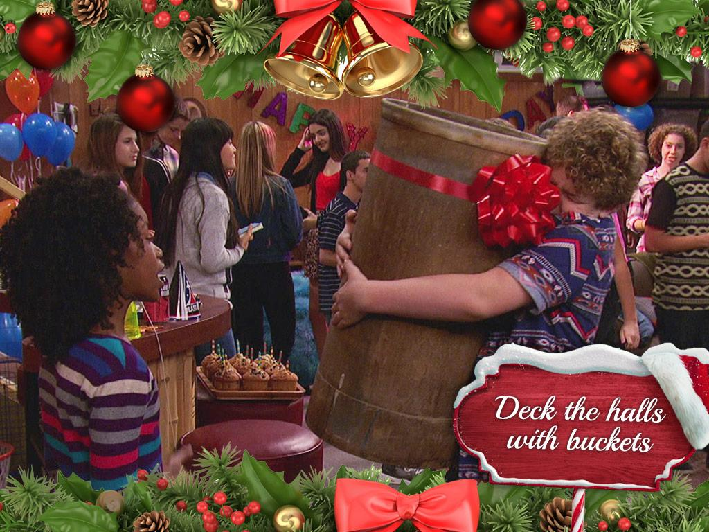 Deck The Halls With Buckets
