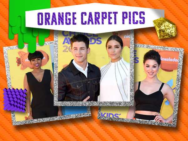 Kids' Choice Awards: Orange Carpet Pics!