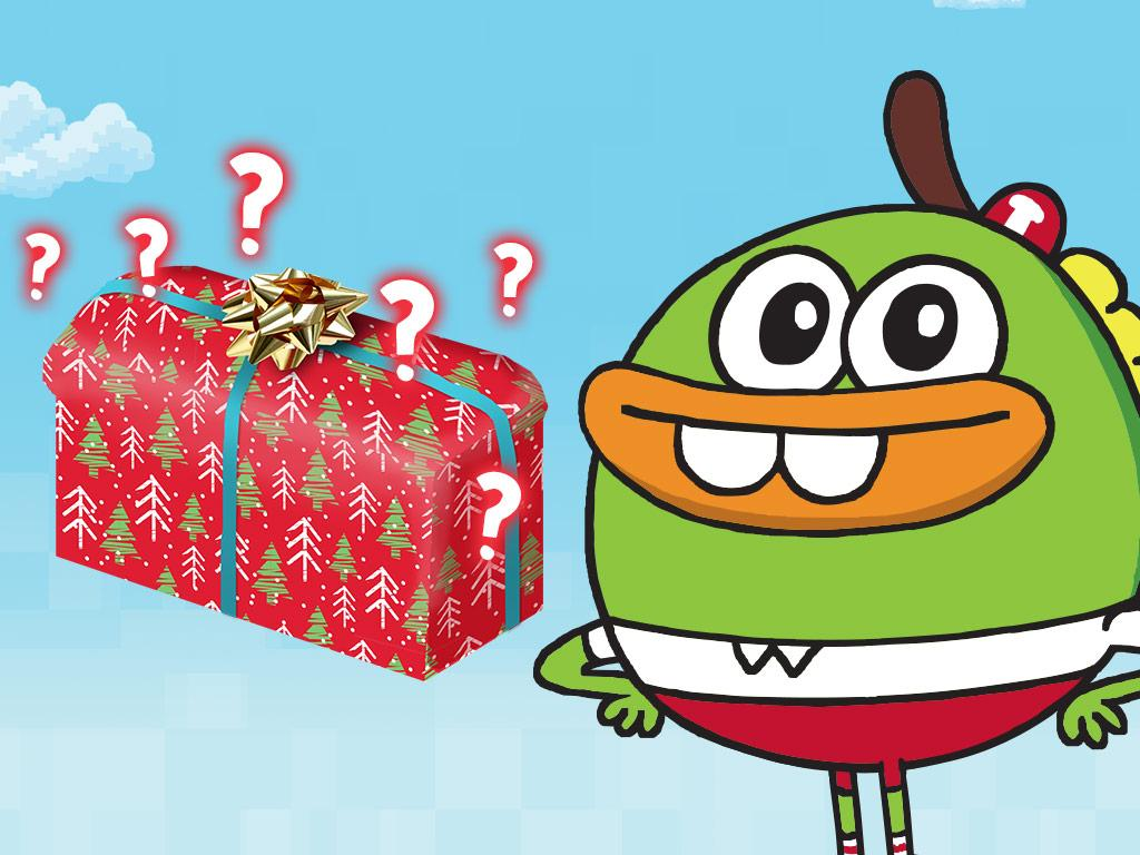 What's Buhdeuce about to unwrap?