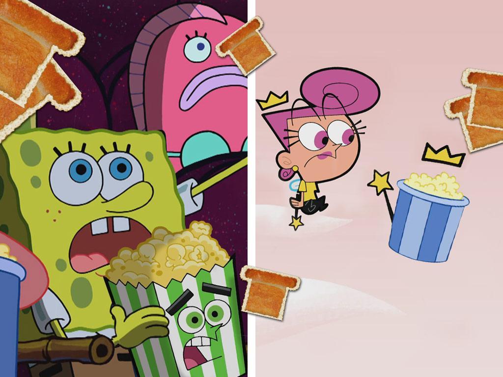 Cosmo & SpongeBob's Popcorn