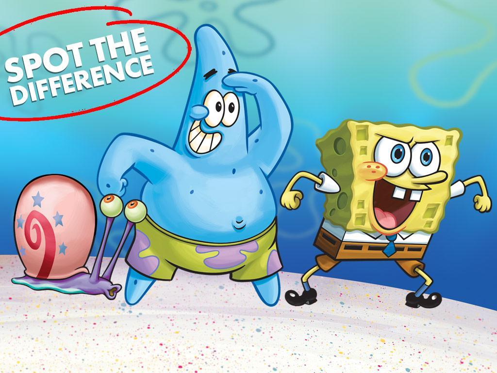 Can you spot all 3 differences in each of these SpongeBob scenes?