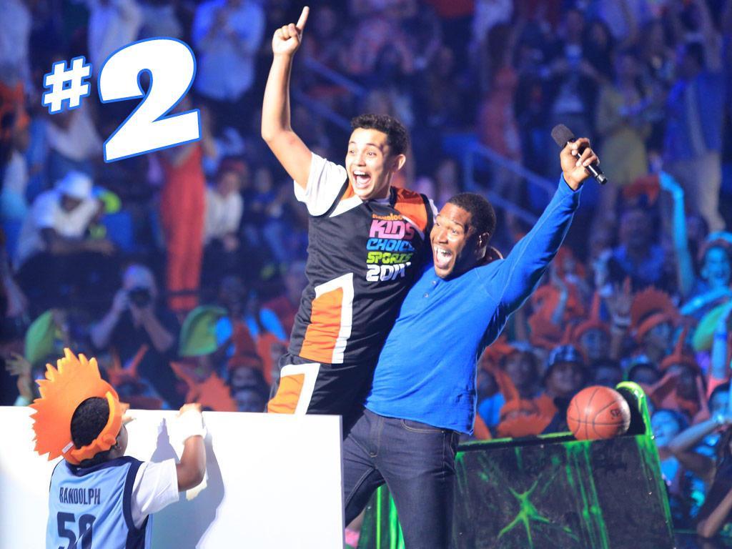 The Kids' Choice Sports Half-Court Shot