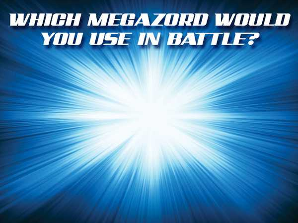 Which Megazord would you use in battle?