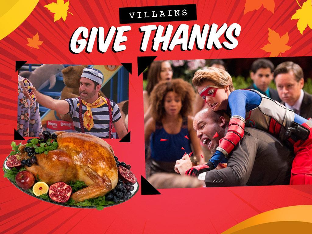 Villains Give Thanks