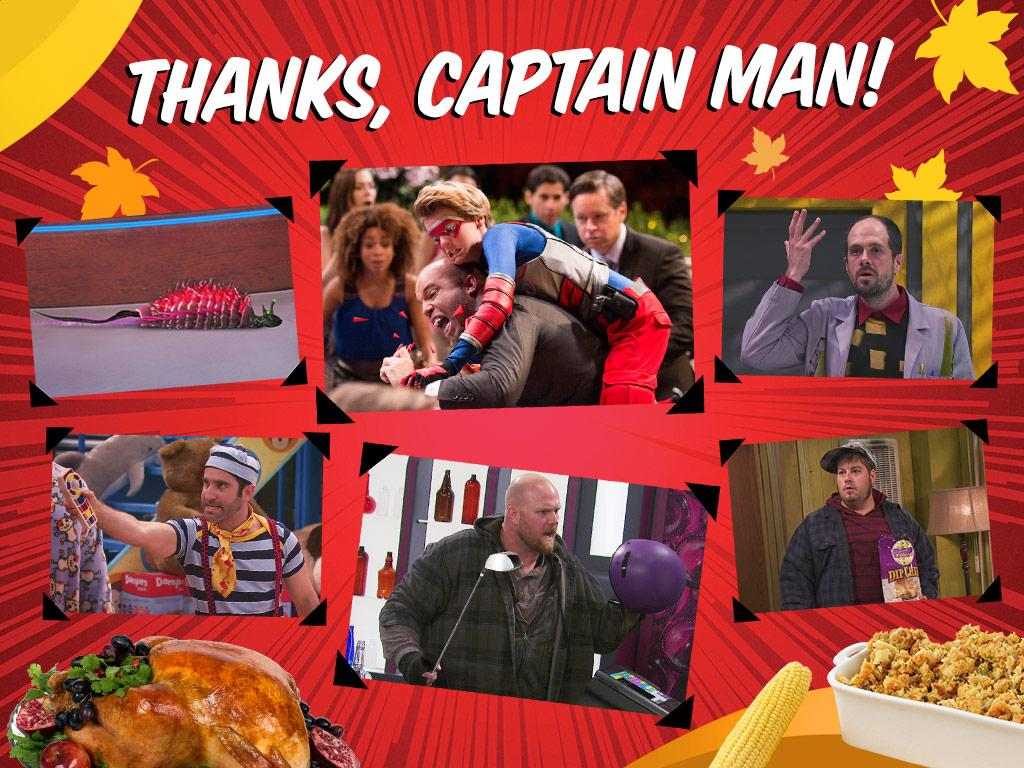 Thanks, Captain Man!