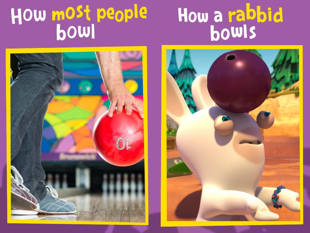 Rabbids always keep their heads in the game.