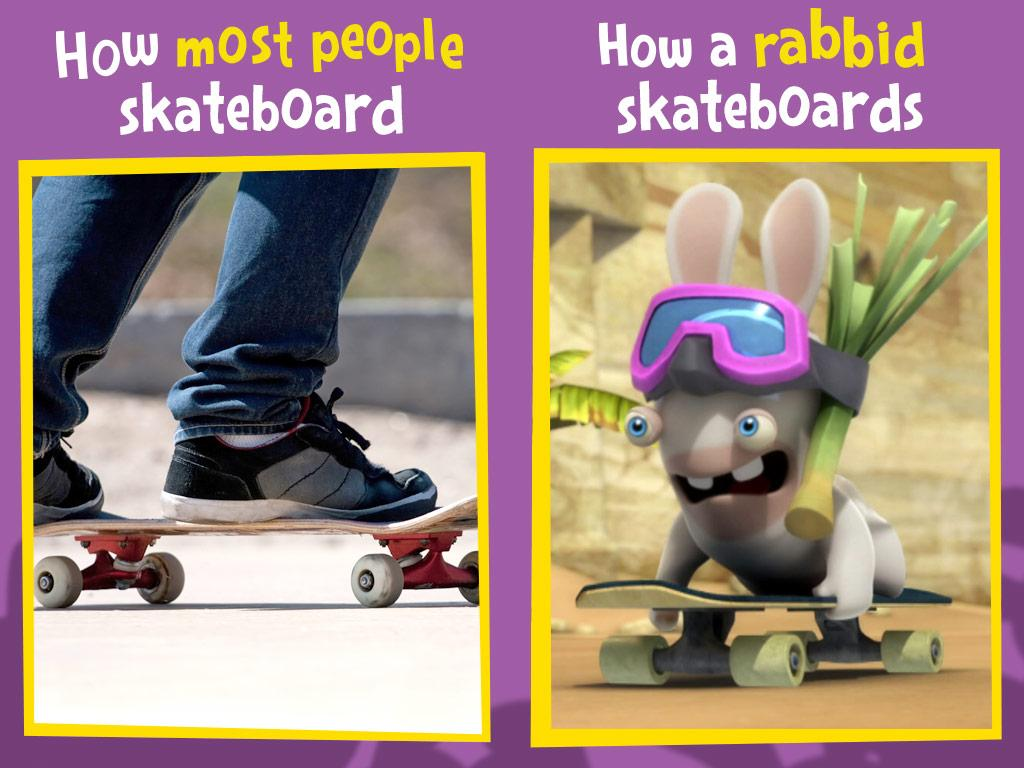 Rabbids always ride in style.