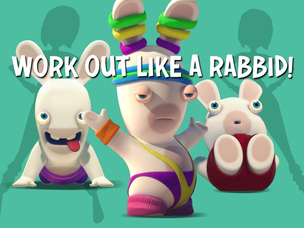 Have you heard about the Rabbids' 10 step workout plan?!