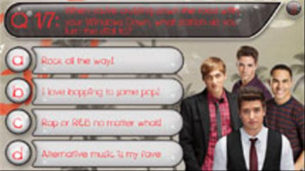 Which BTR Boy Is Your Singing Partner? Screenshot Picture